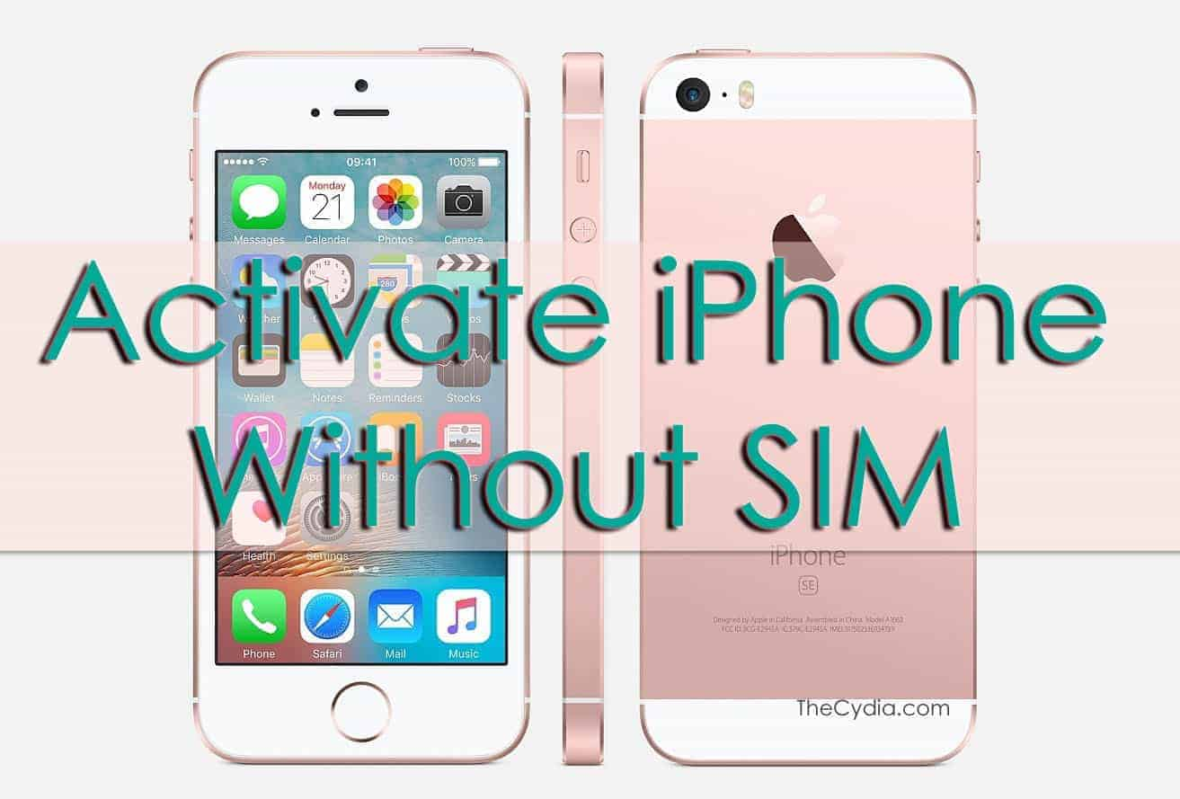 activate iphone without sim how to activate iphone without sim card and bypass iphone 13350