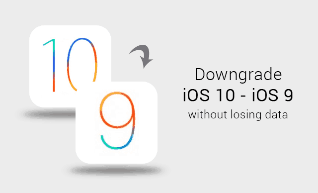Downgrade iOS 10 Beta to iOS 9.3.3