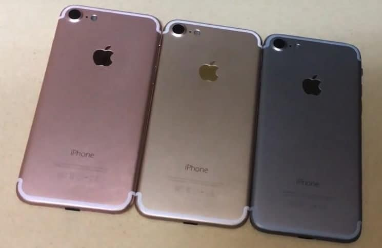 Video Reveals iPhone 7 to Come in Gold, Rose Gold and Space Black