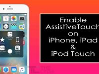 Turn On AssistiveTouch on iPhone