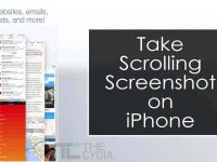 Take Scrolling Screenshot on iPhone, iPad and iPod Touch