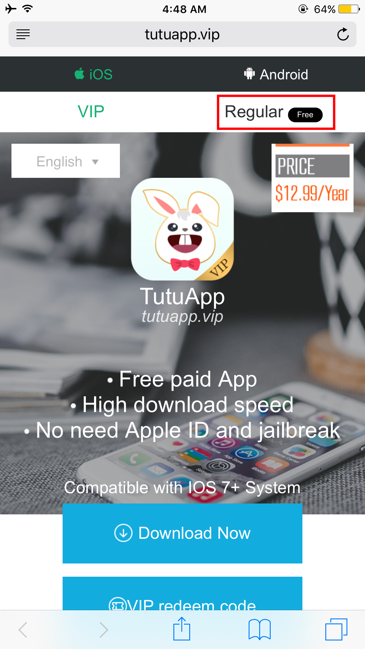 TuTuApp Regular