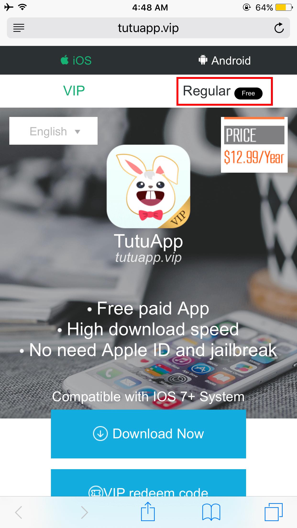 TuTuApp Regular