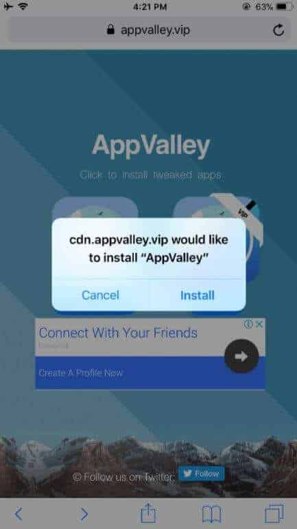 AppValley Install iOS
