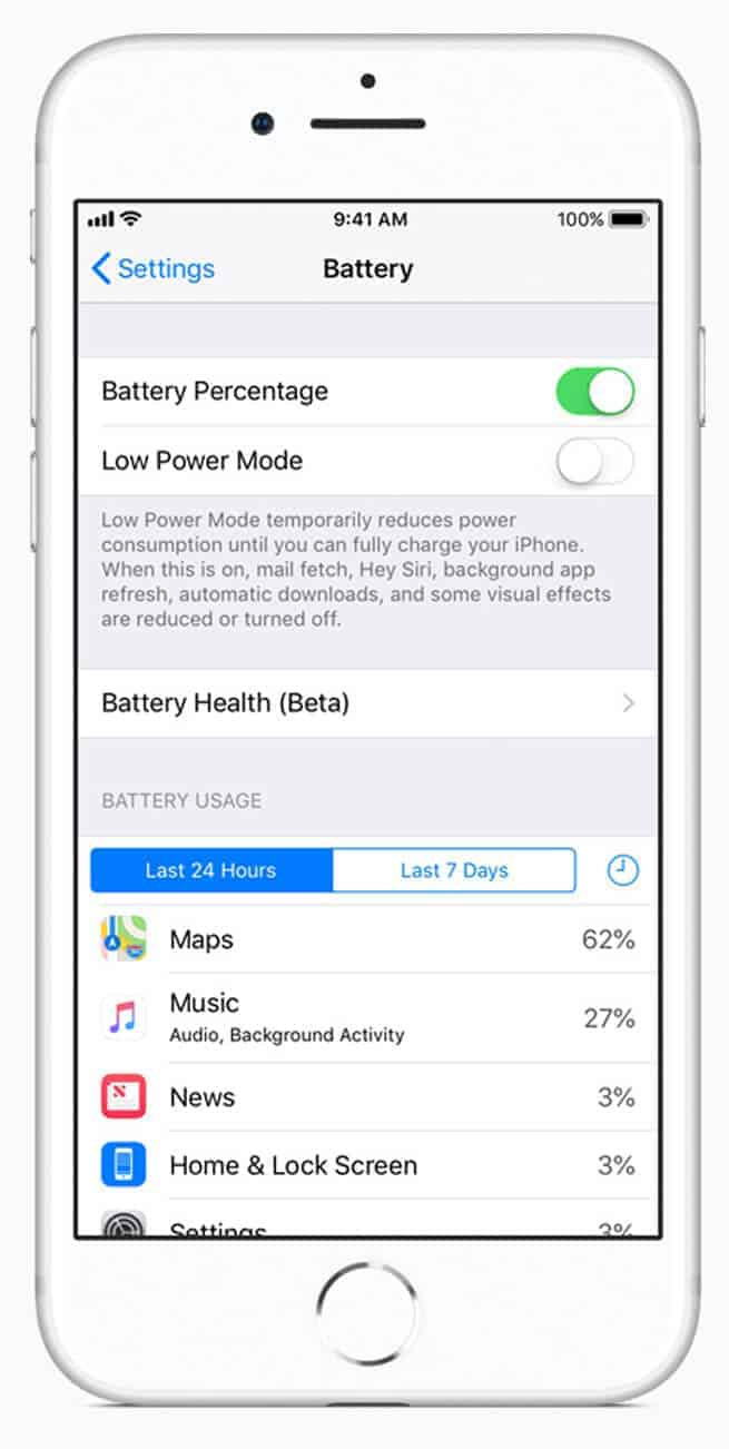 iOS 11.3 Battery and Performance