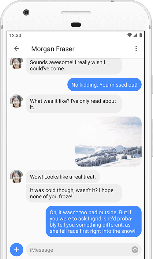 AirMessage - iMessage on Android