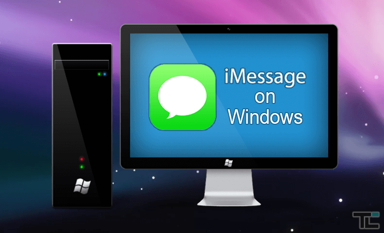 Use iMessage on Windows PC