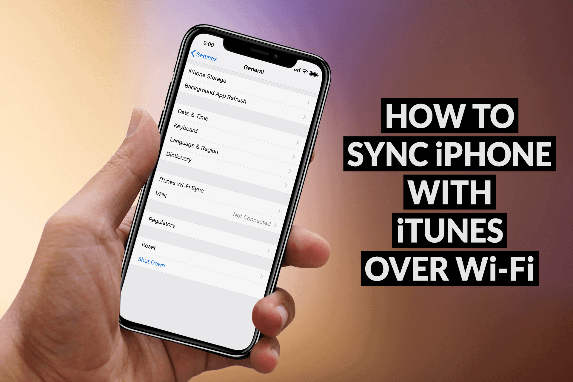 Sync iPhone with iTunes over Wi-Fi - iTunes Wi-Fi Sync